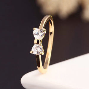 Jewelry - 💓SUPER CUTE GOLD PLATED BOW RING💓